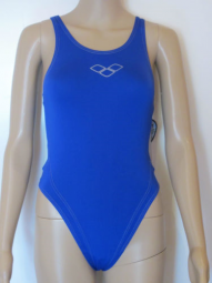 ARENA DAMEN BADEANZUG MAKINAX HIGH BLUE