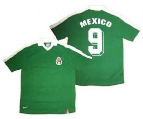 NIKE TRIKOT [GR. S] MEXICO MEXIKO RETRO WM 86 HUGO SANCHEZ 9 NEU & OVP