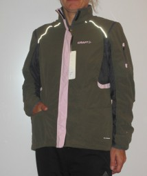 CRAFT CRUISER DAMEN OUTDOORJACKE WESTE GRÜN