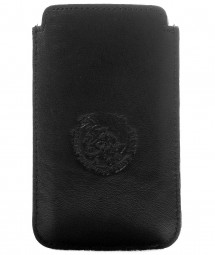 "DIESEL iPHONE HANDY CASE ""HASTINGS"" 3G / 4 / 4S LEDER SCHWARZ"