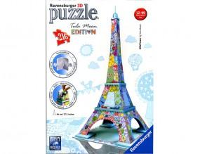 RAVENSBURGER 3-D PUZZLE TULA MOON EDITION EIFELTURM