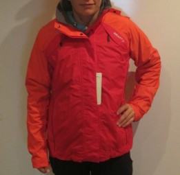 CRAFT FUSION DAMEN OUTDOORJACKE ROT-ORANGE