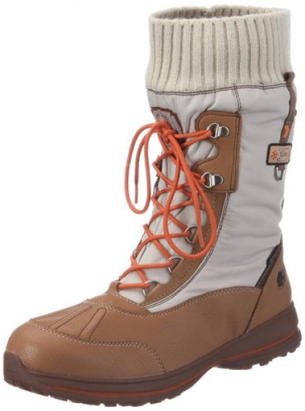 sports shoes b1eed cd9ca GEOX BIANCA WP E OUTDOOR STIEFEL BEIGE GEOX-TEX