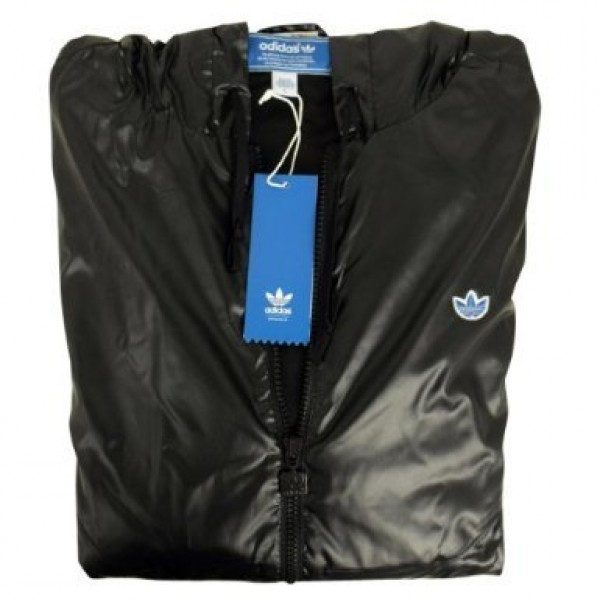 adidas ac windbreaker herren windjacke schwarz jacken. Black Bedroom Furniture Sets. Home Design Ideas