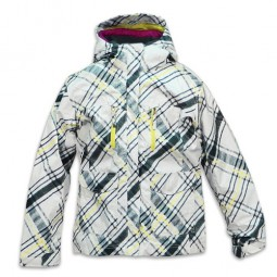 COLUMBIA CHIC TO PEAK WINTERJACKE SKIJACKE OUTDOOR WEIß