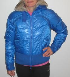 MADE FOR LOVING DAMEN WINTERJACKE DAUNEN BLAU