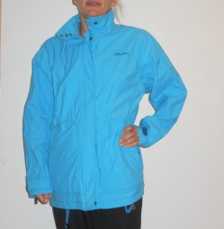 CRAFT NESNA DAMEN OUTDOORJACKE REGENJACKE BLAU