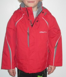 CRAFT RIFT KINDER OUTDOORJACKE ROT