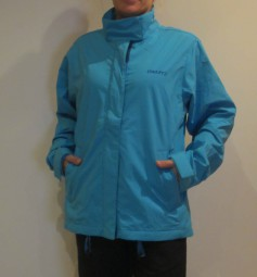 CRAFT RONDANE DAMEN OUTDOORJACKE REGENJACKE BLAU