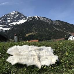 Merino Schaffellteppich Schaffell Teppich ökologisch gegerbt