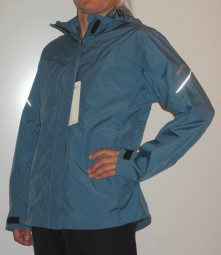 CRAFT WILOW RAIN DAMEN OUTDOORJACKE REGENJACKE BLAU